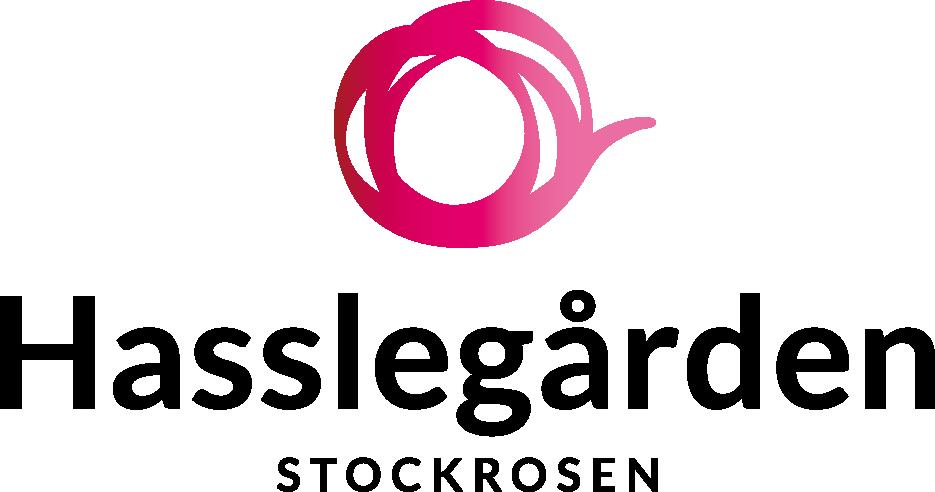 Hasslegården Stockrosen, logotyp